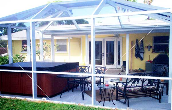 Aluminum Patio Screen Enclosures