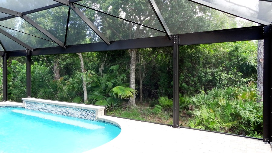 View The New Exclusive Picture Frame Pool Enclosures
